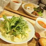 池袋のベジタリアンレストラン「AIN SOPH.soar」でランチを食べました