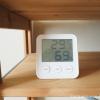クーラーの電気代を節約するために「エンペックス気象計 温度湿度計」を使っています