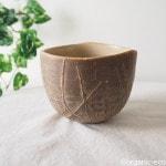お気に入りの陶器のコーヒーカップ