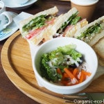 日高市「自家焙煎珈琲ジュリアン」はサンドイッチも美味しいです