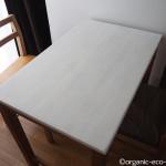 バターミルクペイントでテーブルを塗装しました【DIY】