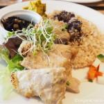 東京ミッドタウンのオーガニックカフェ「ukafe(ウカフェ)」で酵素玄米を食べました