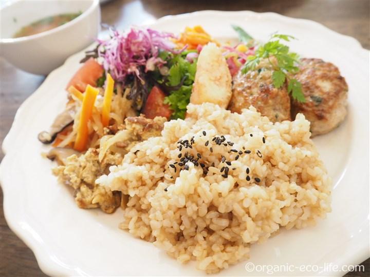 玄米おばんざいプレート