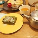 吉祥寺の「お茶とお菓子 横尾」で美味しいひとときを過ごしました