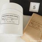 CINQで買った中川ワニさんのコーヒー缶