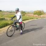 クロスバイクで入間川、荒川経由で平林寺までサイクリング
