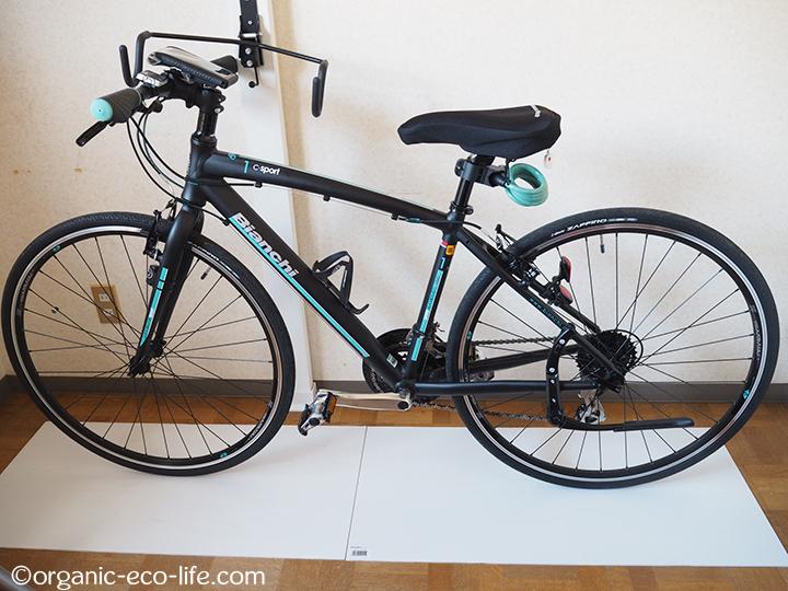 自転車の一時置き
