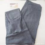 冷えとり靴下の841で「綿ニットのリブパンツ」を買いました
