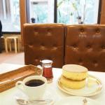 鎌倉の「イワタコーヒー店」でホットケーキを食べました