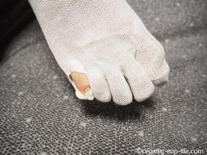 彼氏の靴下