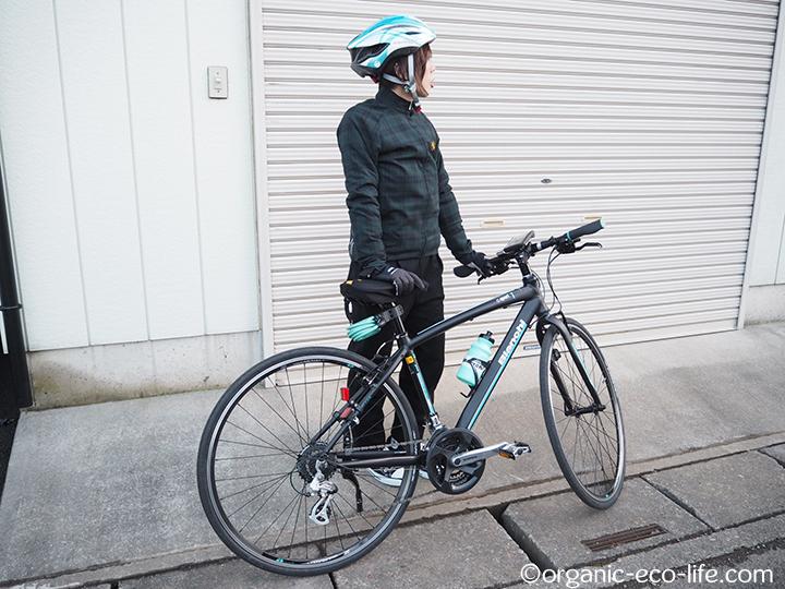 自転車と私