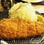 「とんかつまい泉 青山本店」で黒豚のロースかつ膳をいただきました