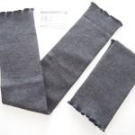 冷えとり靴下の841(ヤヨイ)で「ゆったりリブのウールレッグウォーマー」を買いました