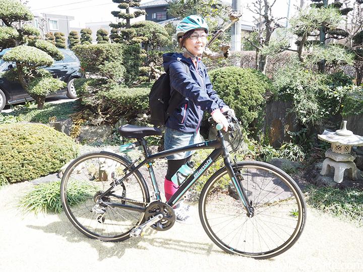 サイクリング時の冷えとりファッション