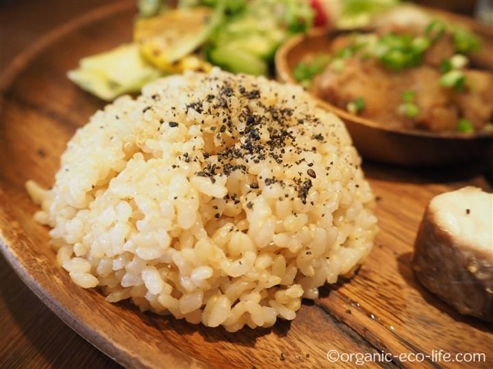 有機玄米ご飯