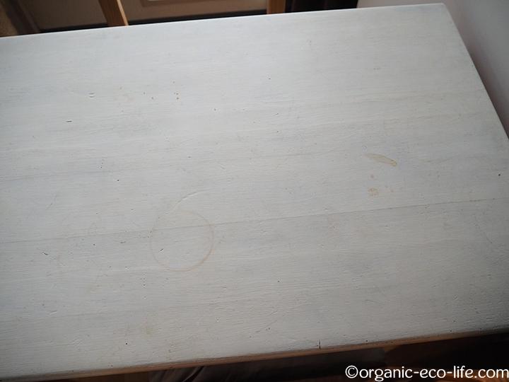 テーブル汚れ