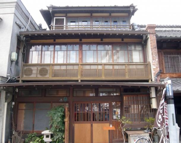 川越の鰻店