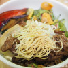 南青山の発酵食と有機野菜のレストラン「たまな食堂」で大豆ミートの生姜焼き丼を食べました