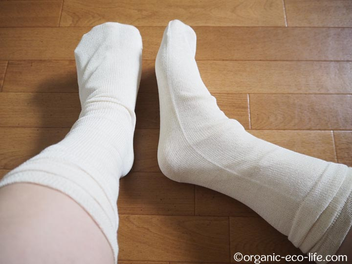 絹冷えとり靴下 ストレスフリー