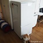 冷蔵庫と洗濯機をもらいました