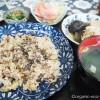 東村山の「ギャラリー喫茶 四季の花」でお豆たっぷりの健康的なご飯を食べました