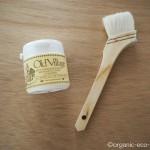 バターミルクペイントでベニヤ板を白く塗りました【DIY】