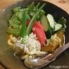 新所沢の「オオグシカレー堂」で冷やしカレーうどんを食べました