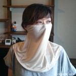 冷えとり靴下の841(ヤヨイ)で絹100%の「シルクのUVカットマスク」を買いました