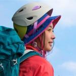 オシャレでカスタマイズできる「ravina」の登山女性専用ヘルメットとハット