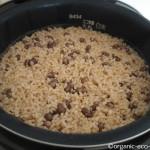 象印の炊飯器「NP-HQ10」で酵素玄米を炊きました