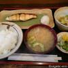 目白の「かてい菜園 ささ木」でおいしい焼き魚の定食を食べました