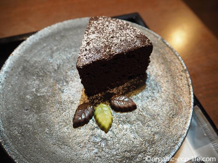 花想容チョコレートケーキ