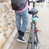 冷えとり靴下の841の「綿ニットのリブパンツ」はサイクリングにもぴったり♪【レビュー】
