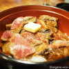 【にっぽんの洋食 赤坂 津つ井】で名物「ビフテキ丼」を食べました