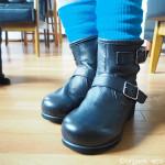 冷えとり靴下の841で「冷えとりエンジニアブーツ」を買いました【冷えとり靴】