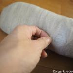 ウールの靴下のかかとに穴が開きました【冷えとり健康法】