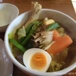 スープカレー専門店「SHANTi 高田馬場店」でチキンマッシュサイゴンを食べました