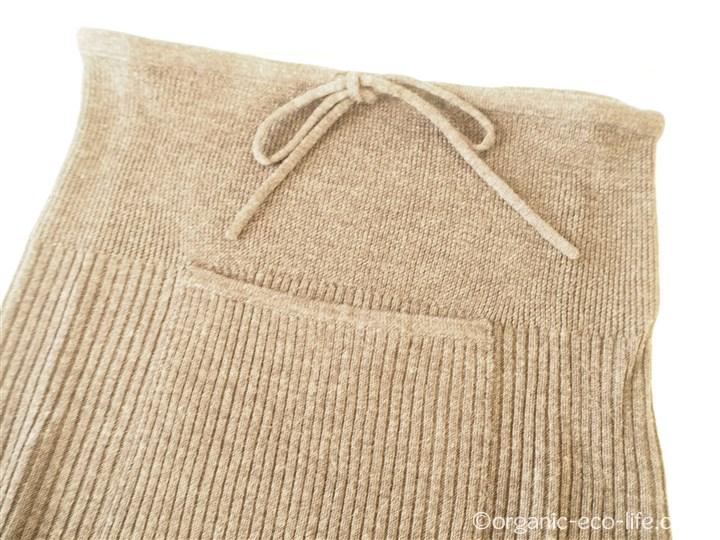 ウールのハラマキスカート