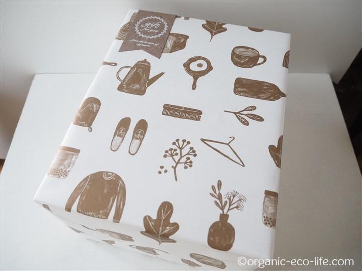 北欧、暮らしの道具店のギフト包装