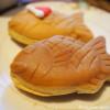 「桃林堂」の小鯛焼とコーヒーのマリアージュを楽しみました