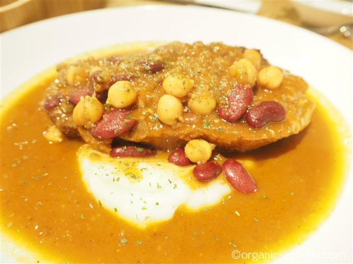 香り豚のスペアリブ トマト煮込み