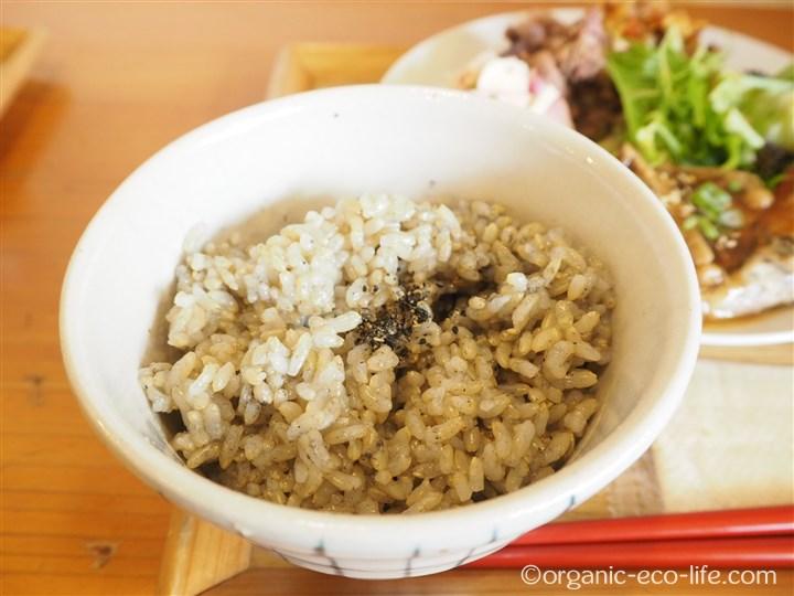 麻炭入り玄米
