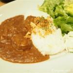 【神楽坂】la kagu(ラ カグ)のカフェ「LA MADRAGUE(マドラグ)」でとろとろポークカレーを食べました