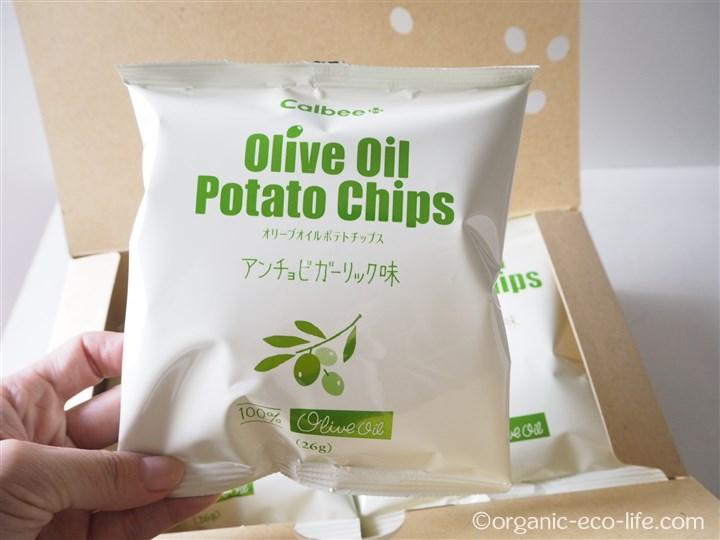 オリーブオイル ポテトチップス袋