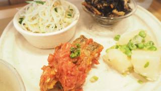 石神井公園の「たべものや ITOHEN」でまごわやさしいセットを食べました