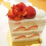 大満足♪ホテルニューオータニ「パティスリーSATSUKI」の高級ショートケーキを食べました
