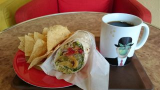 【神谷町】電源とWi-Fiが使えてサンドイッチもおいしい「アンジェリックカフェ (ANGELIC CAFE)」でランチ