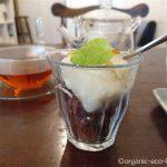 ひばりヶ丘の「HALUMcafe(ハルカフェ)」で豆乳アイスを食べました