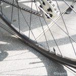 ビアンキのクロスバイク「CAMALEONTE 1」が初めてパンクしました