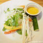 【入間市】ジョンソンタウン「レシピレシピ(recipe2)」で野菜とハーブたっぷりのランチを食べました